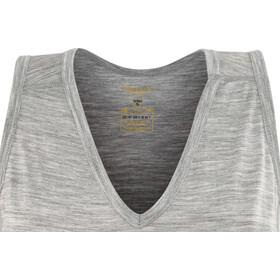 Devold Breeze V-Neck Singlet Women Grey Melange